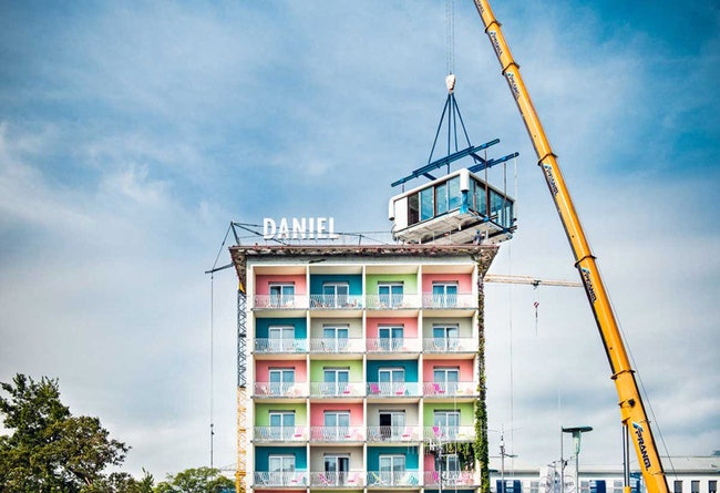 LoftCube    Hotel Daniel    ADMagazine