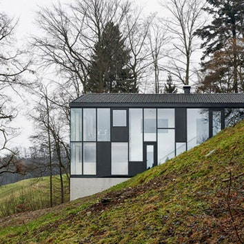 Реконструкция дома в австрийской деревне