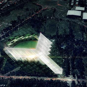 Проект бейсбольного стадиона в Мексике