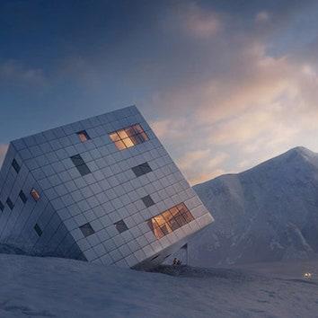 Отель-куб в Словакии