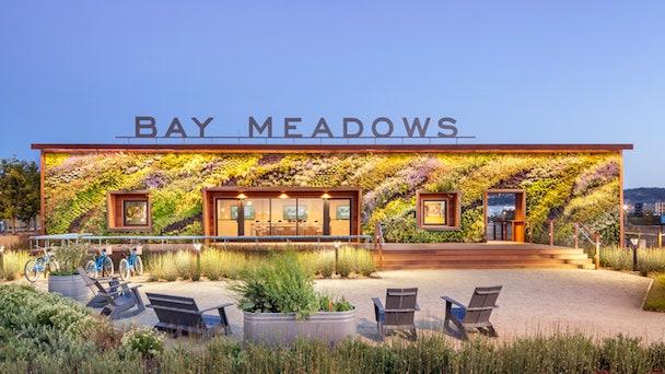 Bay Meadows Welcome Center    Admagazine