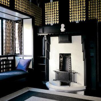 Дом по дизайну Чарльза Ренни Макинтоша в Нортхемптоне