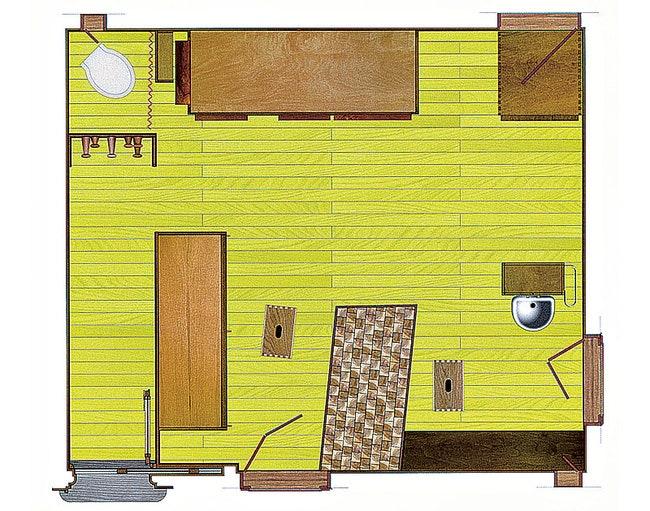 2006    Cassina       .        Le Corbusier LInterno del Cabanon .    .
