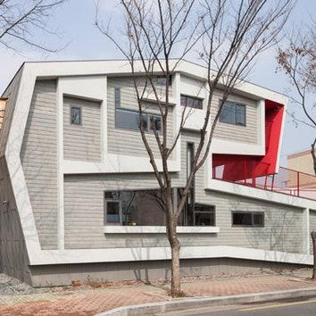 Рулонный дом в Южной Корее