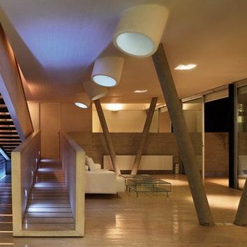 Модернистский дом в Сантьяго
