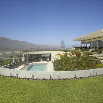 Дом с круглым двором в Чили