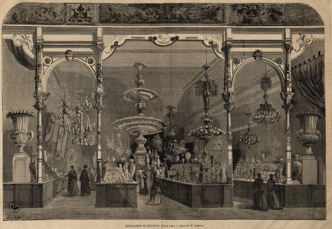 Baccarat      1867.   Baccarat