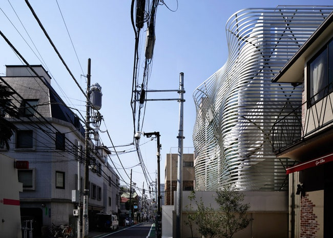 Dear Jingumae Building    Amano Design Office  Admagazine