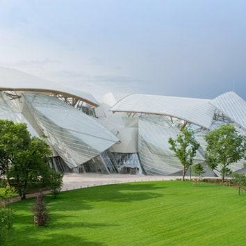 Фонд Louis Vuitton в Париже по проекту Фрэнка Гери