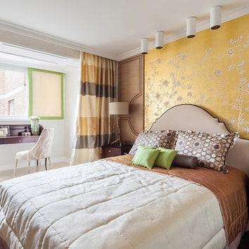 Трехкомнатная квартира в Москве, 78 м²