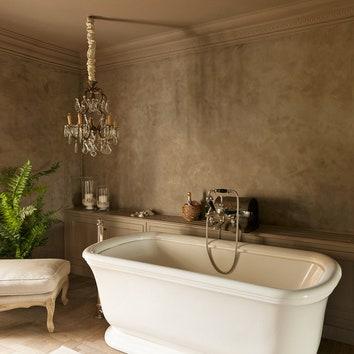 Ванная комната в доме в Бельгии. Дизайнер Сигисберт Энгелбош.
