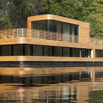Плавучий дом в Гамбурге