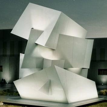 Скульптурная инсталляция от Даниэля Либеcкинда