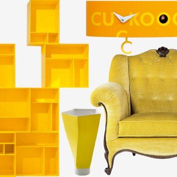 Тенденции дизайна: Желтый цвет