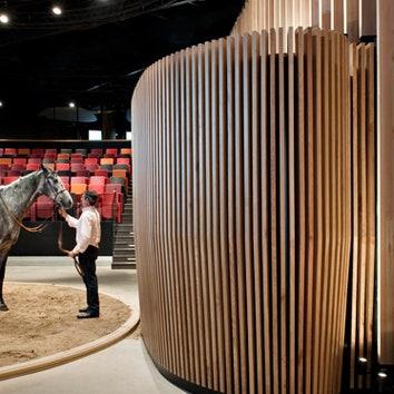 Обновленный павильон аукционного дома Arqana