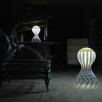 Лампа-осьминог от шведа Маркуса Йоханссона