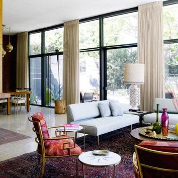 Модернистский дом в Лос-Анджелесе