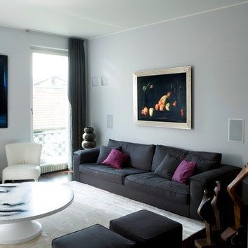 Двухуровневая квартира в Милане