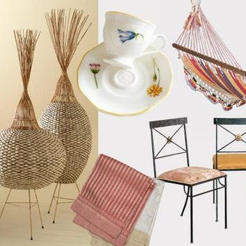 Предметы интерьера и мебель для сада