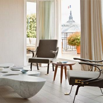 Пастельная квартира в Париже