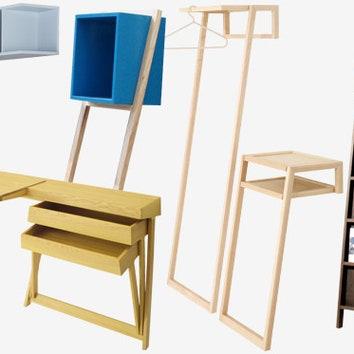 8 приставных предметов мебели