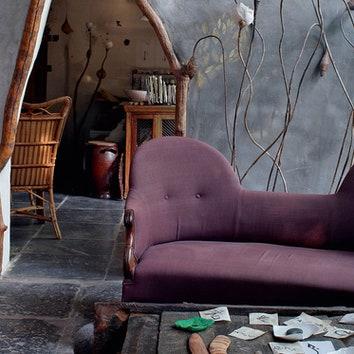 Сказочный дом художницы во Фландрии