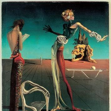 """""""Женщина с головой изроз"""", 1935."""