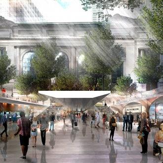 Конкурс на реконструкцию Центрального вокзала в Нью-Йорке
