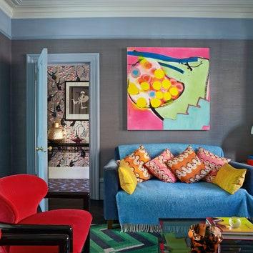 Дом модельера Дженни Пэкхем в Лондоне