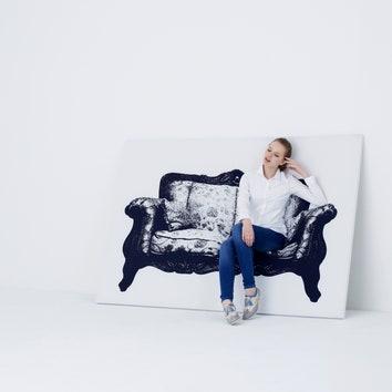 Нарисованные кресла Canvas Сhairs