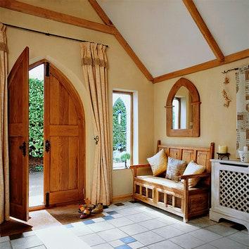 Дом во Франции. Дизайнер Стив Хокинс.