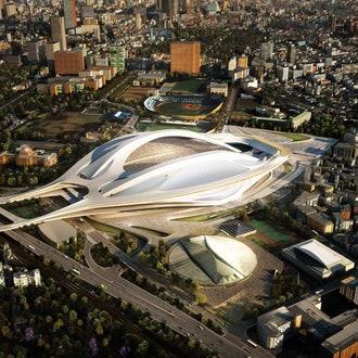 Cтадион по проекту Захи Хадид в Токио