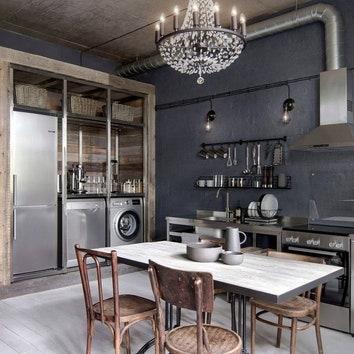 Как оформить лофт: 8 аутентичных квартир от 26 до 175 м²
