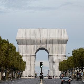 Триумфальная Арка, Париж, архитектура
