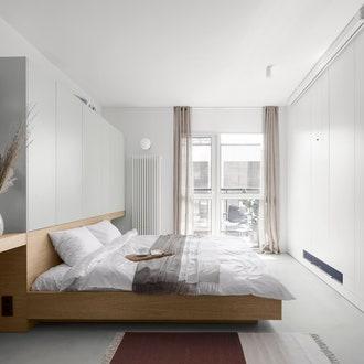 Квартира по проекту Евгении Дубровской в Киеве, спальня