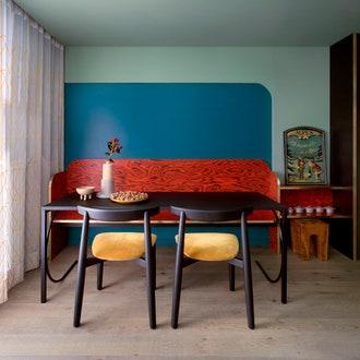 Компактная квартира в итальянских Альпах