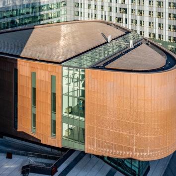 Больничный комплекс CHUM в Монреале